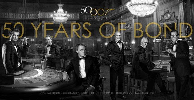 Agente 007 torna al cinema l 39 ultima volta di daniel craig - Tavolo n 19 streaming ...